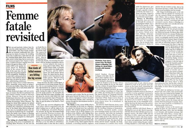 Article Preview: Femme fatale revisited, March 1994 | Maclean's