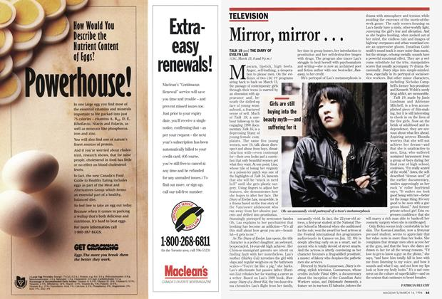 Article Preview: Mirror, mirror..., March 1994 | Maclean's