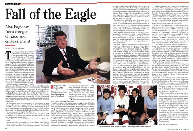Article Preview: Fall of the Eagle, March 1994 | Maclean's