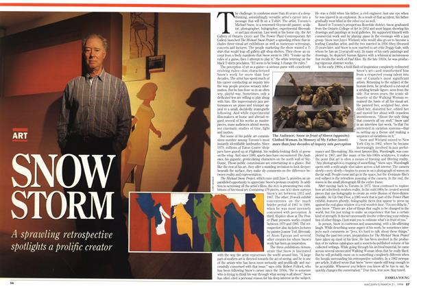 Article Preview: SNOW STORM, March 1994 | Maclean's