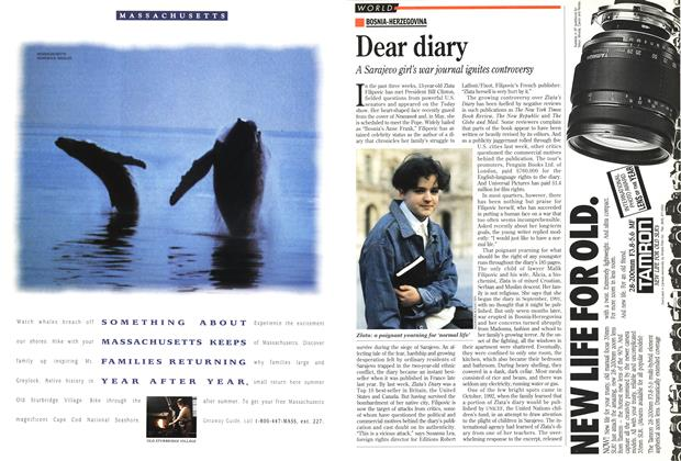 Article Preview: Dear diary, March 1994 | Maclean's