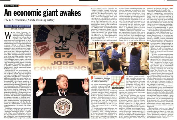 Article Preview: An economic giant awakes, March 1994 | Maclean's