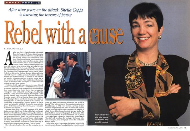Article Preview: Rebel with a cause, April 1994 | Maclean's