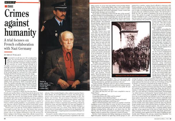 Article Preview: Crimes against humanity, April 1994 | Maclean's