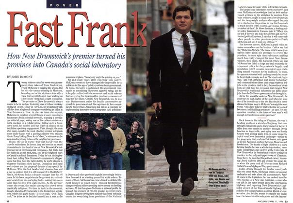 Article Preview: Fast Frank, April 1994 | Maclean's