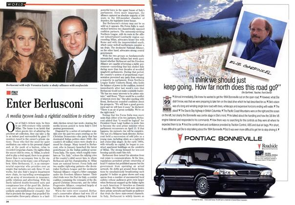 Article Preview: Enter Berlusconi, April 1994 | Maclean's