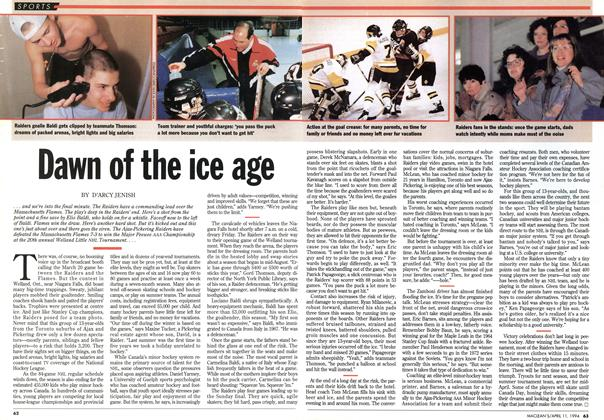 Article Preview: Dawn of the ice age, April 1994 | Maclean's