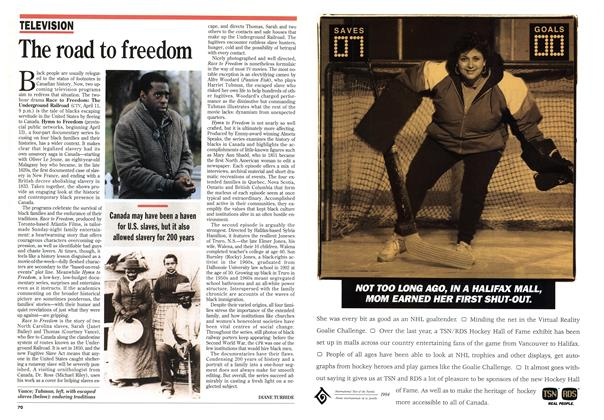 Article Preview: The road to freedom, April 1994 | Maclean's