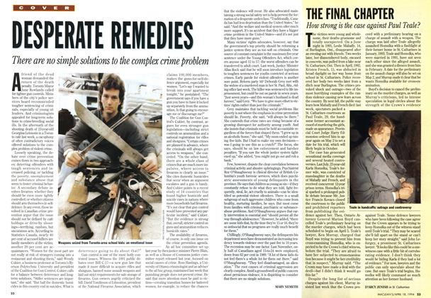 Article Preview: DESPERATE REMEDIES, April 1994 | Maclean's