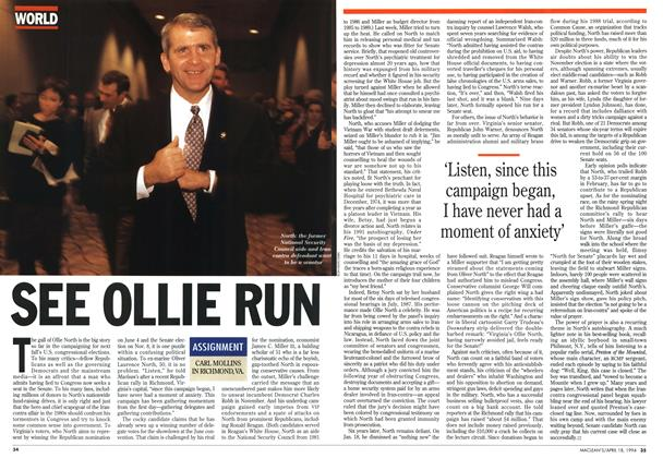 Article Preview: SEE OLLIE RUN, April 1994 | Maclean's