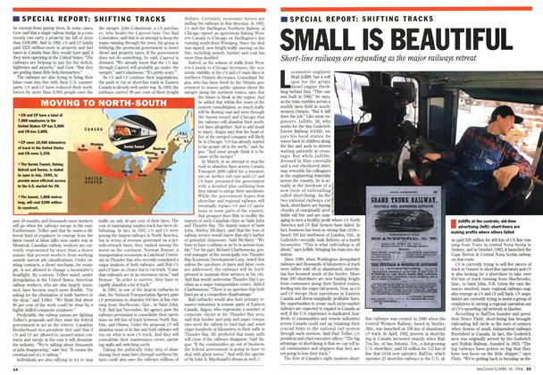 Article Preview: SMALL IS BEAUTIFUL, April 1994 | Maclean's