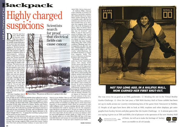 Article Preview: Highly charged suspicions, April 1994 | Maclean's
