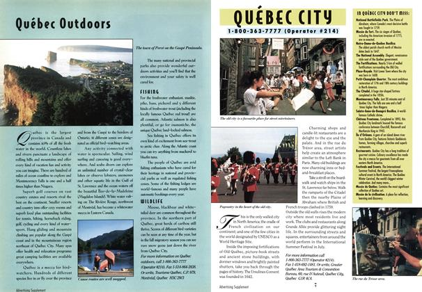 Article Preview: Québec Outdoors, April 1994 | Maclean's