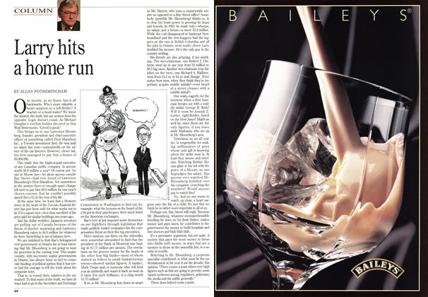 Article Preview: Larry hits a home run, April 1994 | Maclean's