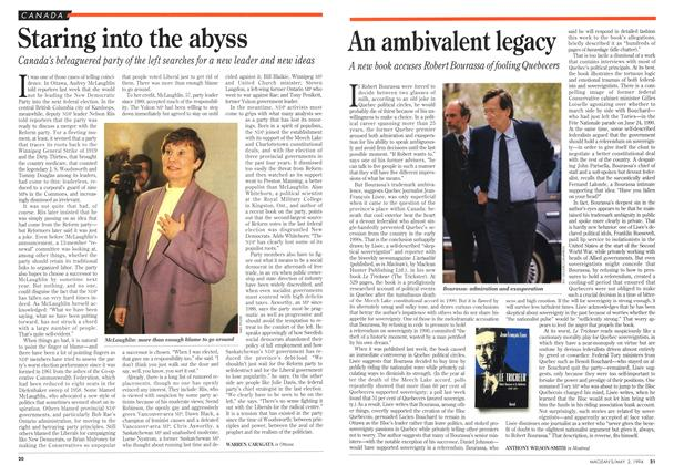 Article Preview: An ambivalent legacy, May 1994 | Maclean's