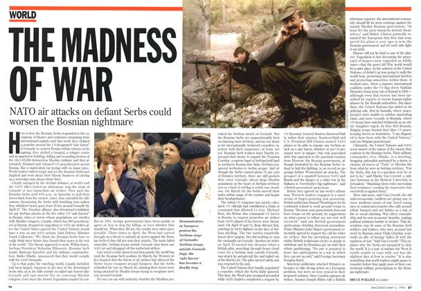 Article Preview: THE MADNESS OF WAR, May 1994 | Maclean's