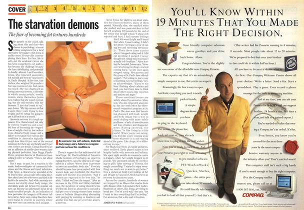 Article Preview: The starvation demons, May 1994 | Maclean's