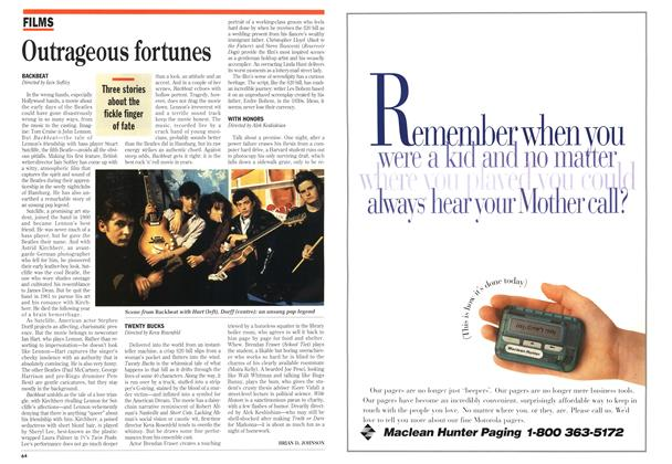 Article Preview: Outrageous fortunes, May 1994 | Maclean's