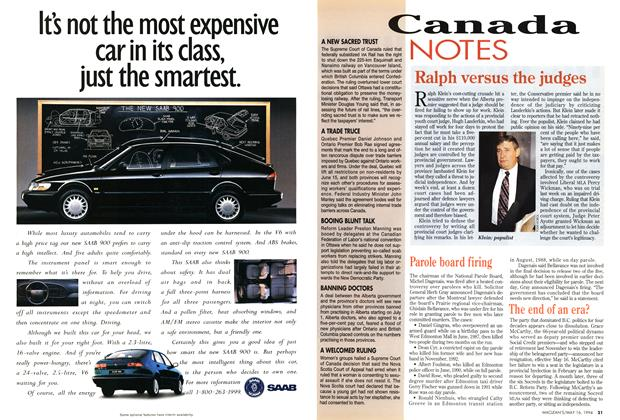 Article Preview: The end of an era?, May 1994 | Maclean's
