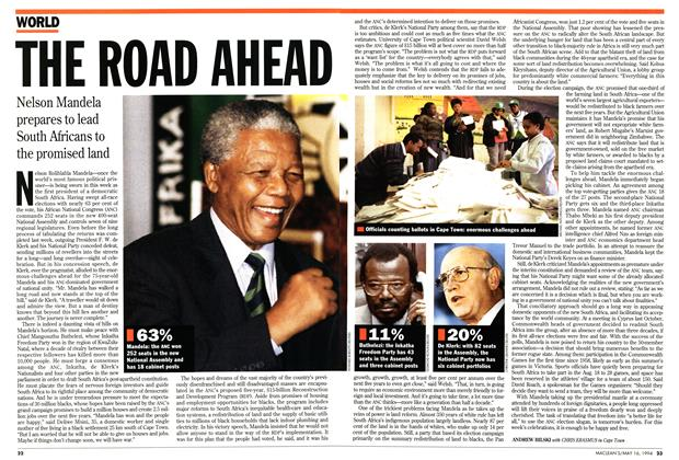 Article Preview: THE ROAD AHEAD, May 1994 | Maclean's