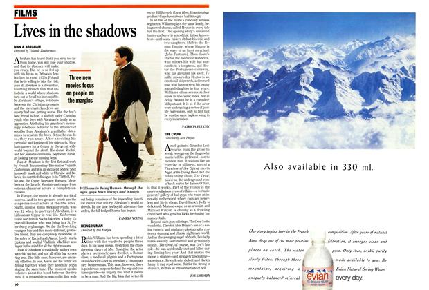Article Preview: Lives in the shadows, May 1994 | Maclean's