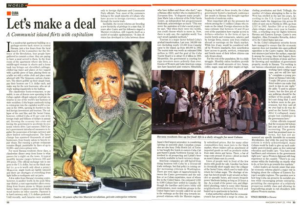 Article Preview: Let's make a deal, May 1994 | Maclean's