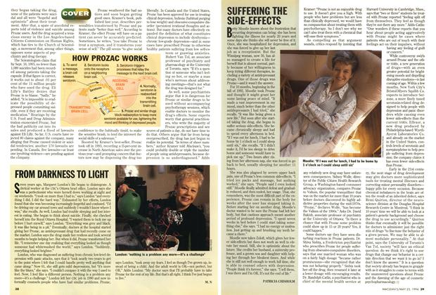 Article Preview: SUFFERING THE SIDE-EFFECTS, May 1994 | Maclean's