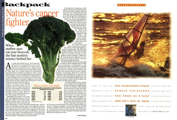 Article Preview: Nature's cancer fighter, May 1994 | Maclean's