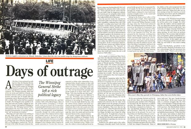 Article Preview: Days of outrage, May 1994 | Maclean's