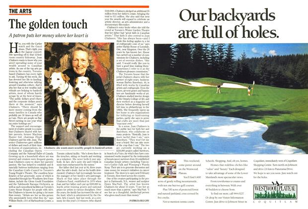 Article Preview: The golden touch, May 1994 | Maclean's