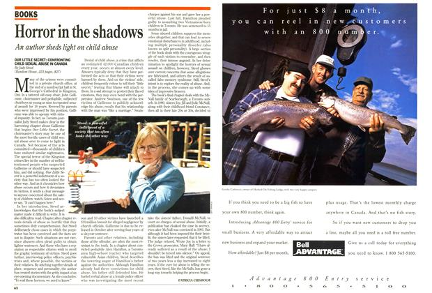 Article Preview: Horror in the shadows, May 1994 | Maclean's