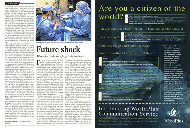 Article Preview: Future shock, May 1994 | Maclean's