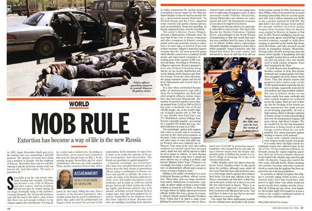 Article Preview: MOB RULE, May 1994 | Maclean's