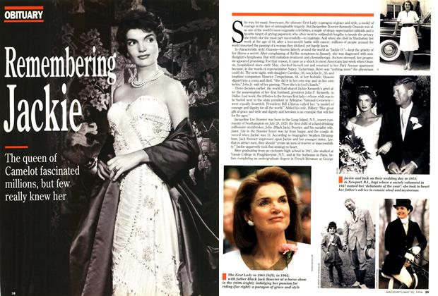 Article Preview: Remembering Jackie, May 1994 | Maclean's