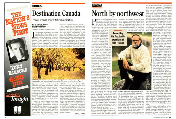 Article Preview: North by northwest, May 1994 | Maclean's