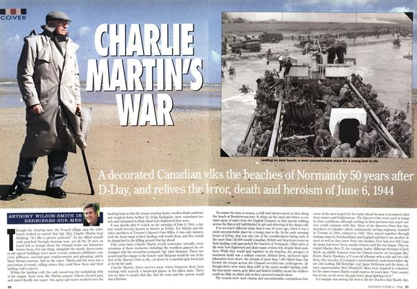 Article Preview: CHARLIE MARTIN'S WAR, June 1994 | Maclean's