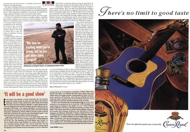 Article Preview: 'It will be a good show', June 1994 | Maclean's