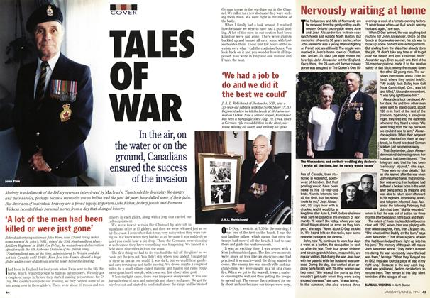 Article Preview: TALES OF WAR, June 1994 | Maclean's