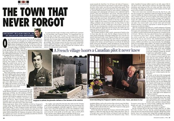 Article Preview: THE TOWN THAT NEVER FORGOT, June 1994 | Maclean's