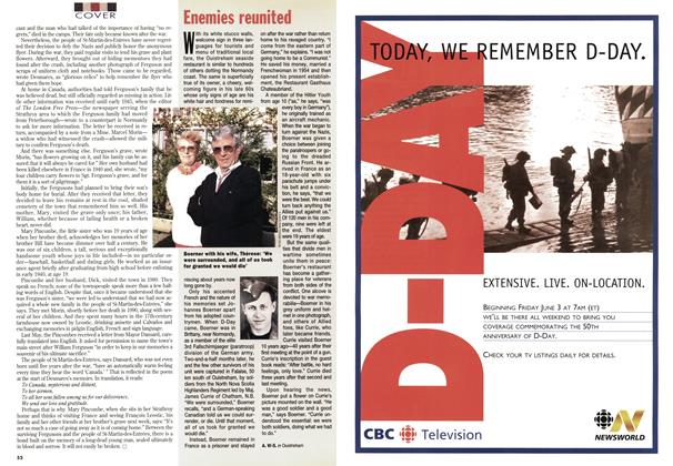 Article Preview: Enemies reunited, June 1994 | Maclean's