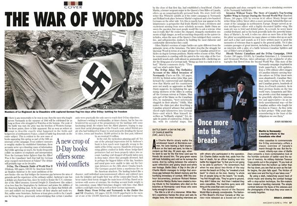 Article Preview: THE WAR OF WORDS, June 1994 | Maclean's