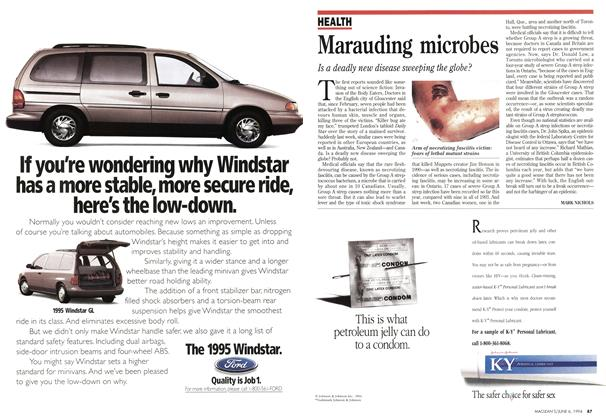 Article Preview: Marauding microbes, June 1994 | Maclean's