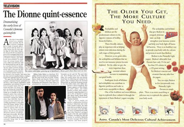 Article Preview: The Dionne quint-essence, June 1994 | Maclean's
