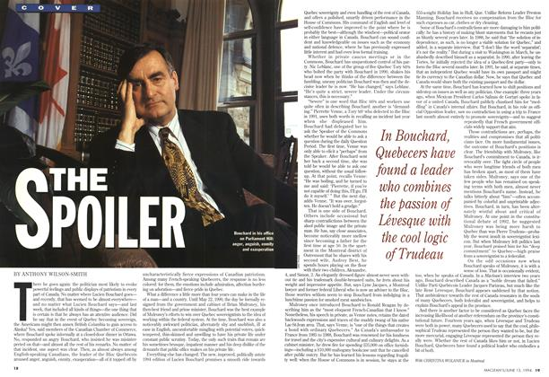 Article Preview: THE SPOILER, June 1994 | Maclean's