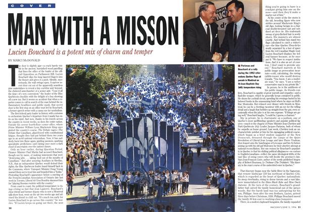 Article Preview: MAN WITH A MISSON, June 1994 | Maclean's
