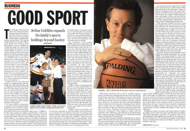 Article Preview: GOOD SPORT, June 1994 | Maclean's