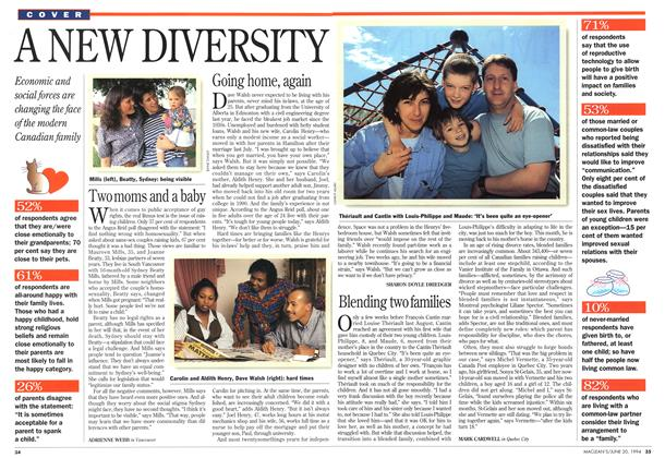 Article Preview: A NEW DIVERSITY, June 1994 | Maclean's