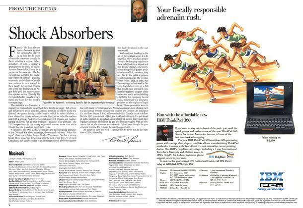 Article Preview: Shock Absorbers, June 1994 | Maclean's