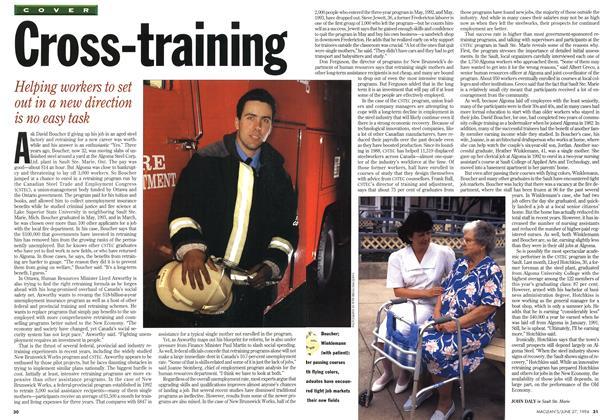 Article Preview: Cross-training, June 1994 | Maclean's