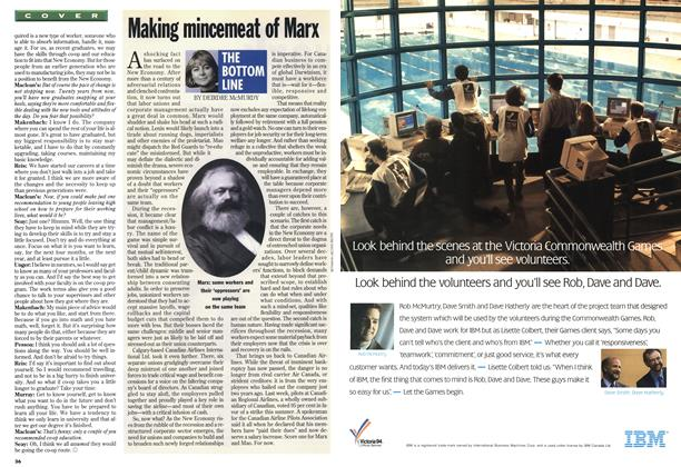Article Preview: Making mincemeat of Marx, June 1994 | Maclean's